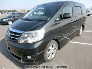Used 2008 TOYOTA ALPHARD BH592137 for Sale