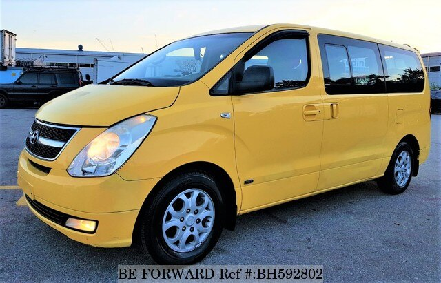 Used 2008 HYUNDAI STAREX BH592802 for Sale