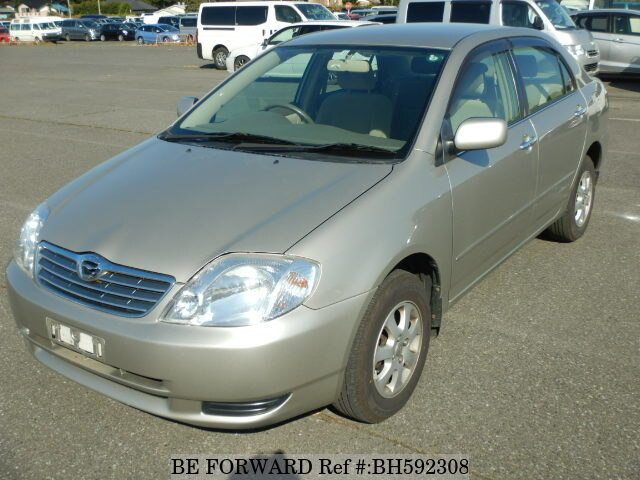 Used 2002 TOYOTA COROLLA SEDAN BH592308 for Sale