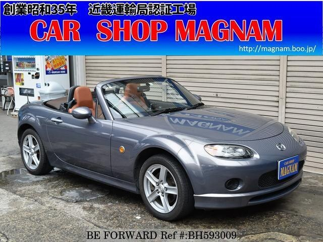 Used 2006 MAZDA ROADSTER BH593009 for Sale