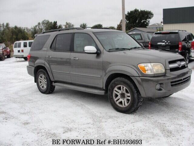 Used 2007 TOYOTA SEQUOIA BH593693 for Sale