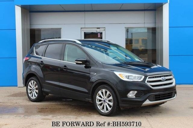 Used 2017 FORD ESCAPE BH593710 for Sale