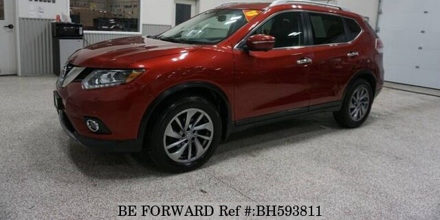 Used 2015 NISSAN ROGUE BH593811 for Sale