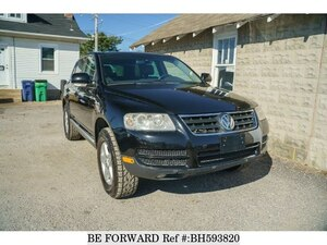 Used 2007 VOLKSWAGEN TOUAREG BH593820 for Sale