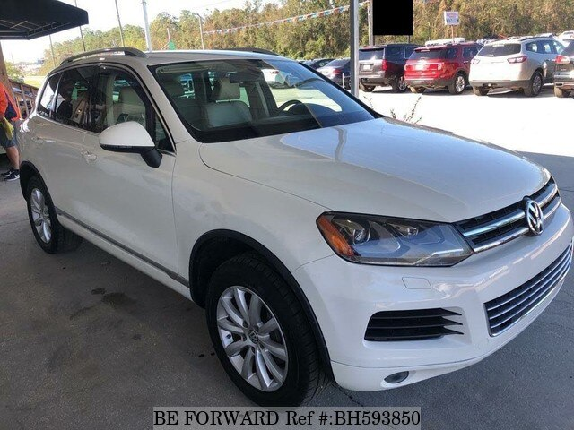 Used 2011 VOLKSWAGEN TOUAREG BH593850 for Sale