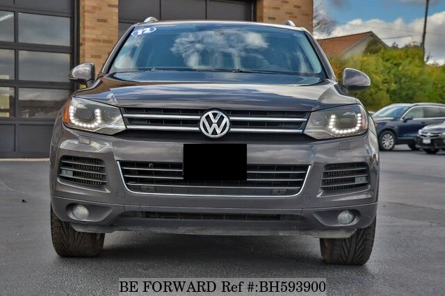 Used 2012 VOLKSWAGEN TOUAREG BH593900 for Sale