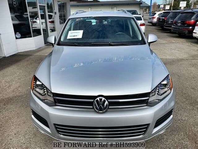 Used 2012 VOLKSWAGEN TOUAREG BH593909 for Sale