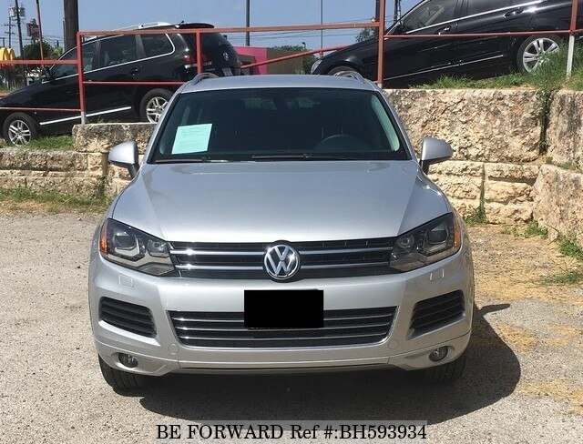 Used 2013 VOLKSWAGEN TOUAREG BH593934 for Sale