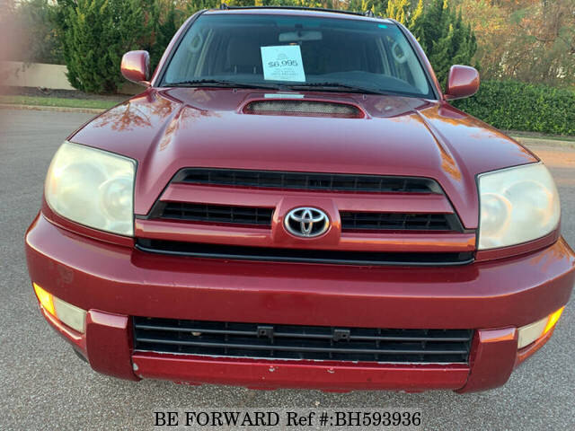 Used 2005 TOYOTA 4RUNNER BH593936 for Sale