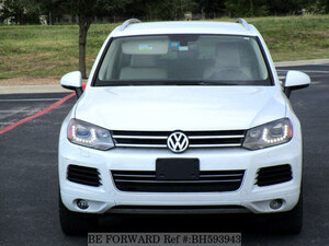 Used 2013 VOLKSWAGEN TOUAREG BH593943 for Sale