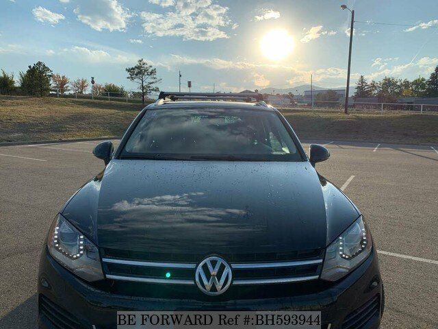 Used 2013 VOLKSWAGEN TOUAREG BH593944 for Sale