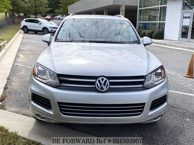 Used 2014 VOLKSWAGEN TOUAREG BH593957 for Sale
