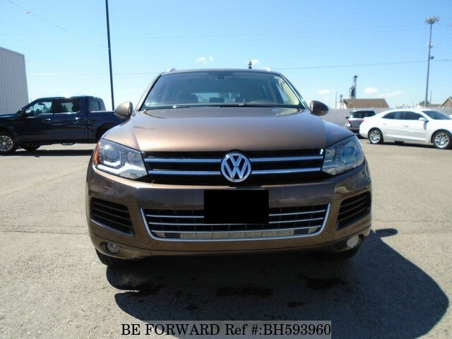 Used 2014 VOLKSWAGEN TOUAREG BH593960 for Sale
