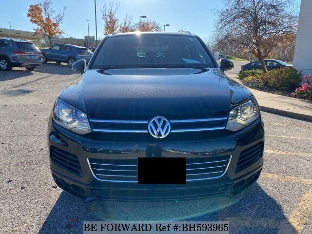 Used 2014 VOLKSWAGEN TOUAREG BH593965 for Sale