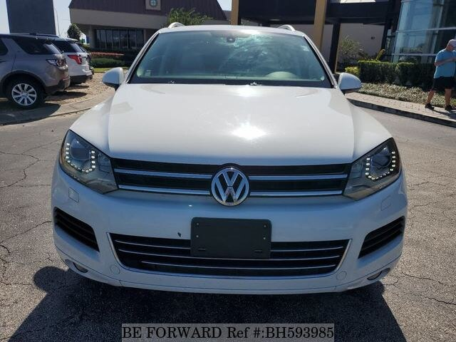 Used 2014 VOLKSWAGEN TOUAREG BH593985 for Sale