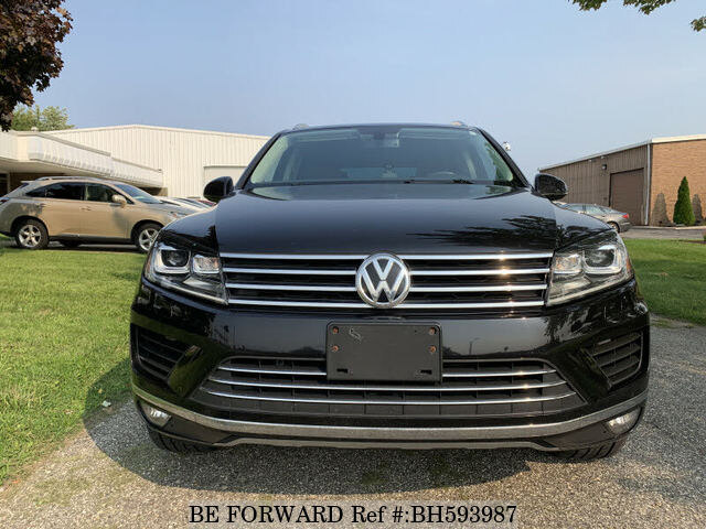 Used 2015 VOLKSWAGEN TOUAREG BH593987 for Sale
