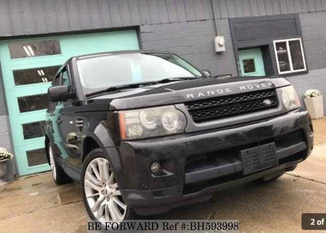 Used 2010 LAND ROVER RANGE ROVER BH593998 for Sale
