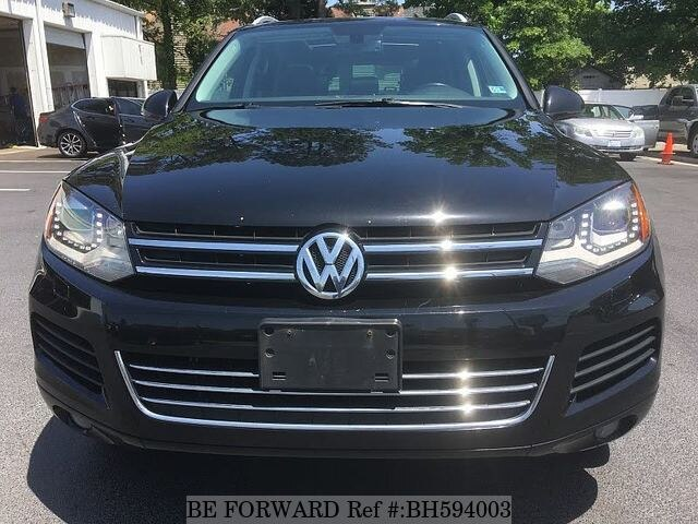 Used 2013 VOLKSWAGEN TOUAREG BH594003 for Sale
