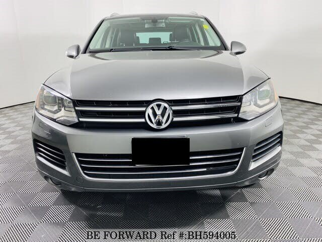 Used 2013 VOLKSWAGEN TOUAREG BH594005 for Sale