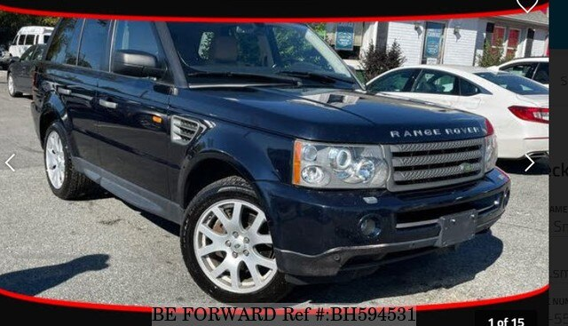 Used 2008 LAND ROVER RANGE ROVER BH594531 for Sale