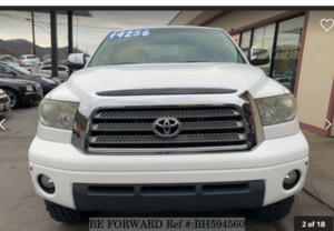 Used 2007 TOYOTA TUNDRA BH594560 for Sale