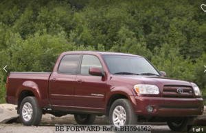 Used 2006 TOYOTA TUNDRA BH594562 for Sale