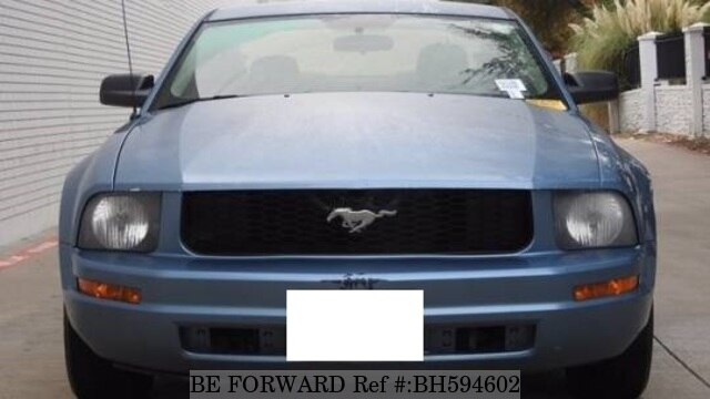 Used 2007 FORD MUSTANG BH594602 for Sale