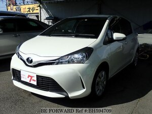 Used 2015 TOYOTA VITZ BH594709 for Sale