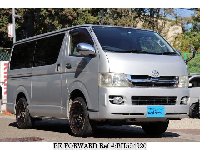 Used 2007 TOYOTA HIACE VAN BH594920 for Sale