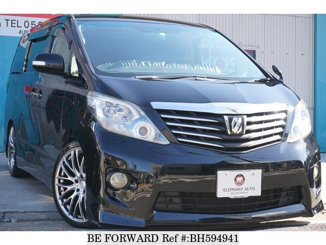 Used 2009 TOYOTA ALPHARD BH594941 for Sale