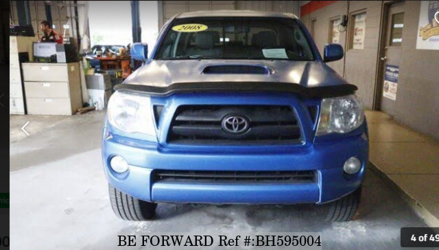 Used 2008 TOYOTA TACOMA BH595004 for Sale