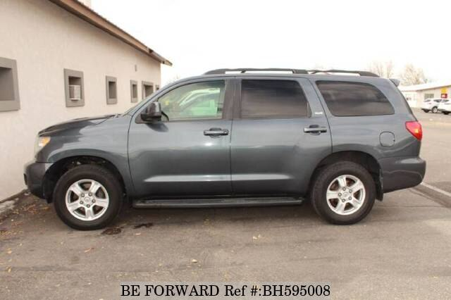 Used 2008 TOYOTA SEQUOIA BH595008 for Sale