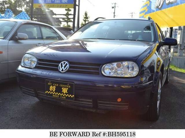 Used 2003 VOLKSWAGEN GOLF WAGON BH595118 for Sale