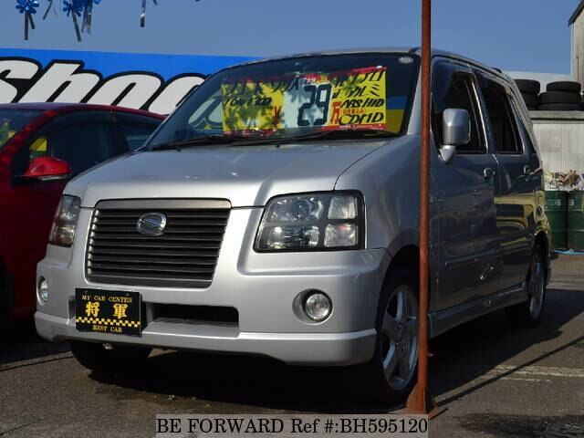 Used 2004 SUZUKI WAGON R SOLIO BH595120 for Sale