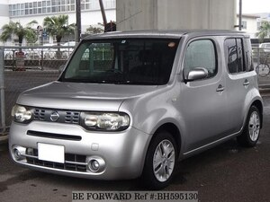 Used 2008 NISSAN CUBE BH595130 for Sale