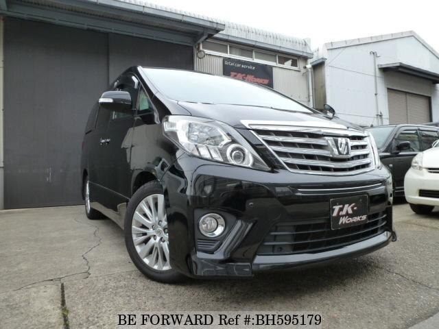Used 2012 TOYOTA ALPHARD BH595179 for Sale