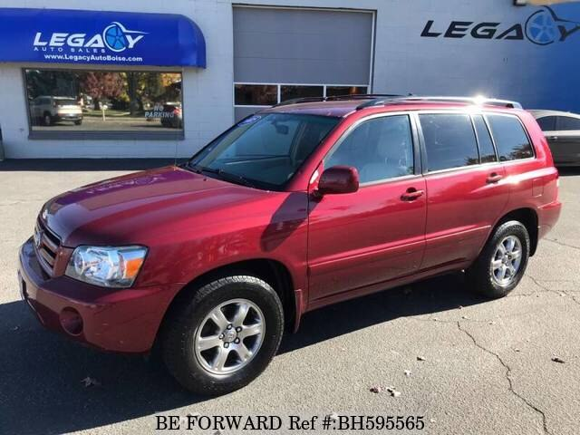 Used 2005 TOYOTA HIGHLANDER BH595565 for Sale