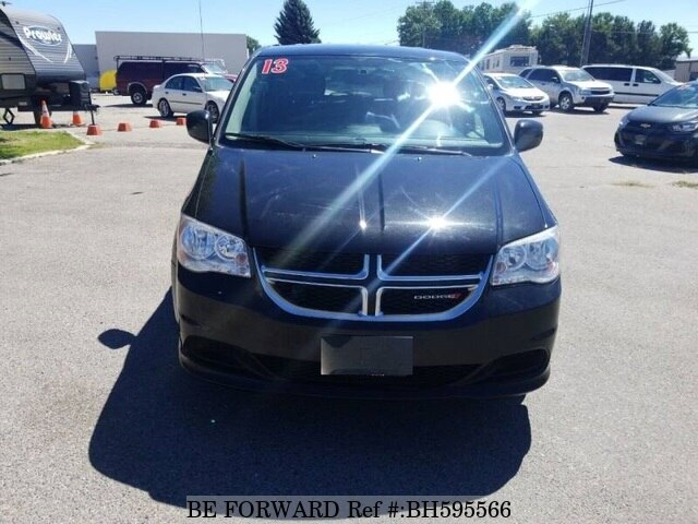 Used 2013 DODGE GRAND CARAVAN BH595566 for Sale