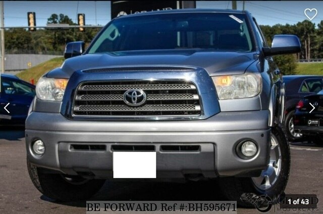 Used 2008 TOYOTA TUNDRA BH595671 for Sale