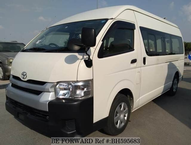 Used 2014 TOYOTA HIACE COMMUTER BH595683 for Sale
