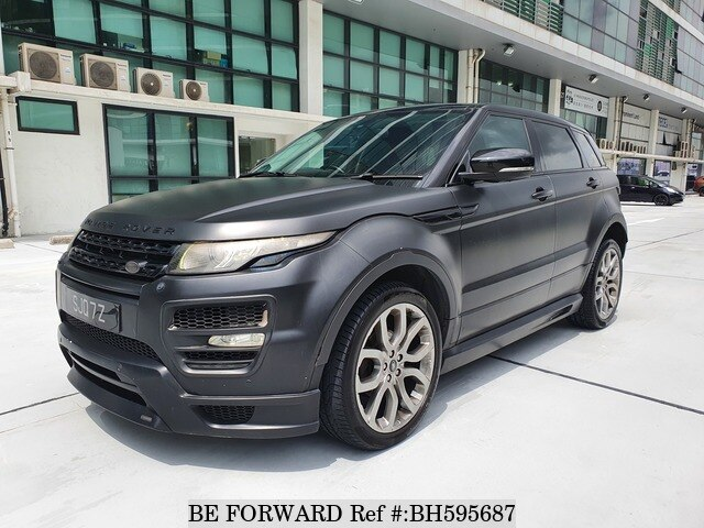 Used 2012 LAND ROVER RANGE ROVER EVOQUE BH595687 for Sale