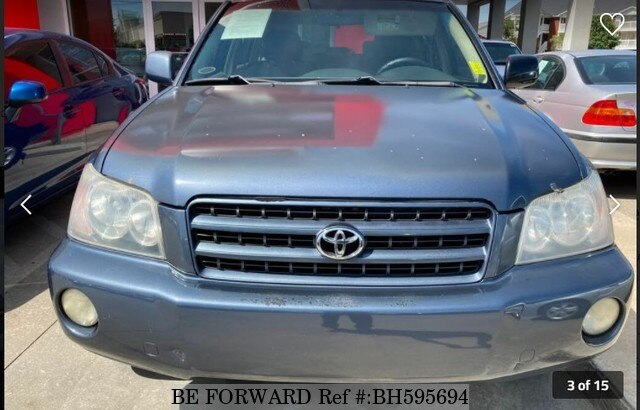 Used 2002 TOYOTA HIGHLANDER BH595694 for Sale