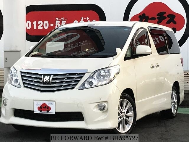 Used 2009 TOYOTA ALPHARD BH595727 for Sale