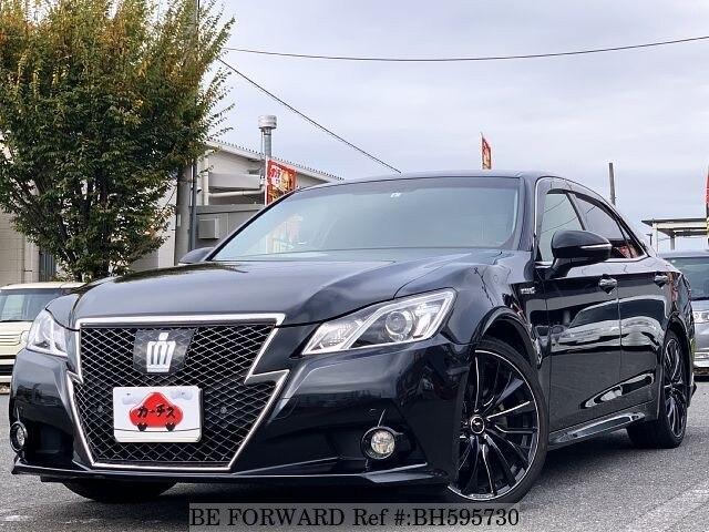 Used 2014 TOYOTA CROWN BH595730 for Sale