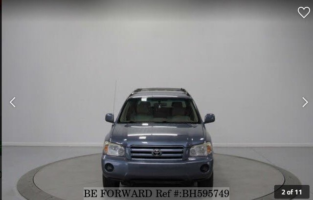 Used 2004 TOYOTA HIGHLANDER BH595749 for Sale