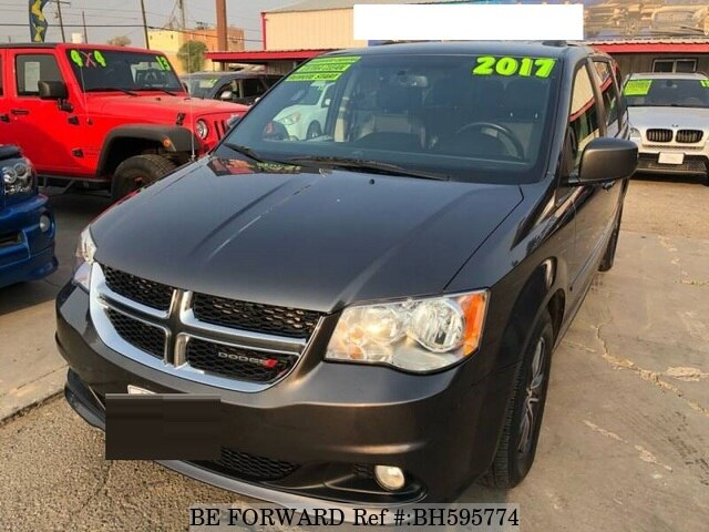 Used 2017 DODGE GRAND CARAVAN BH595774 for Sale