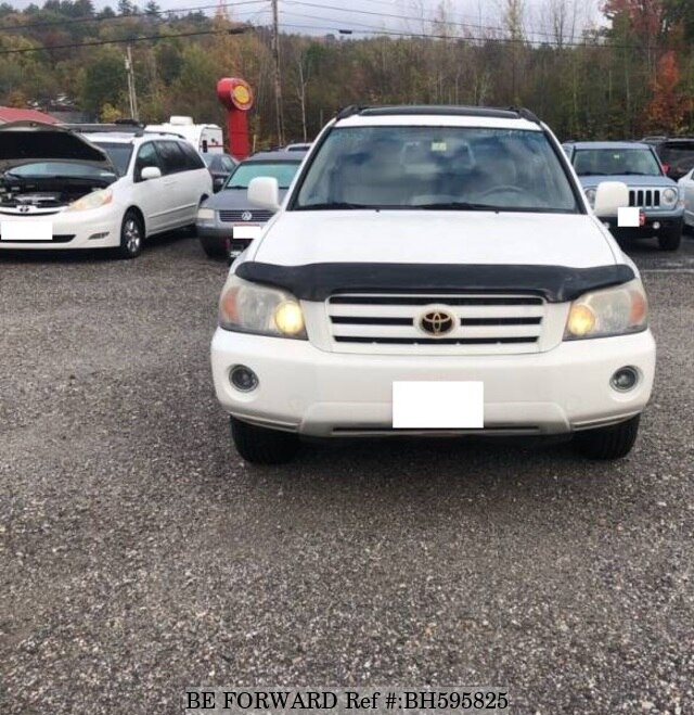 Used 2006 TOYOTA HIGHLANDER BH595825 for Sale