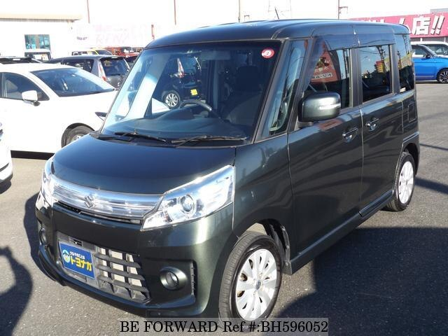 Used 2014 SUZUKI SPACIA BH596052 for Sale
