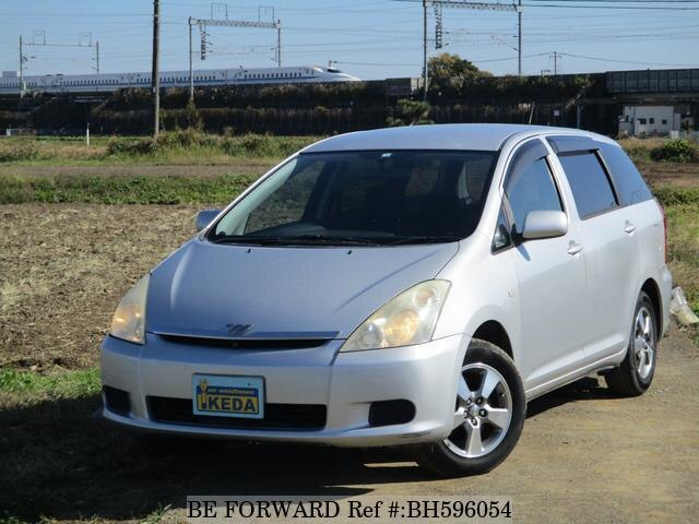 Used 2003 TOYOTA WISH BH596054 for Sale