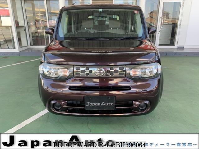 Used 2012 NISSAN CUBE BH596064 for Sale